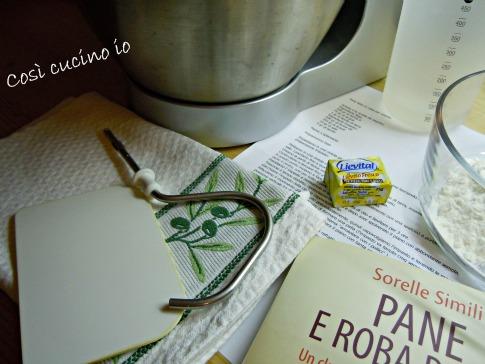Ingredienti per evento pane-Così cucino io