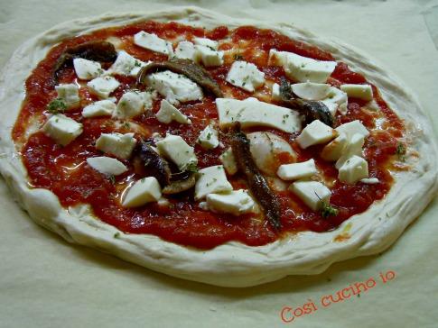 Pizza napoletana da infornare-Così cucino io