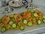 Cuscus gamberi zucchine e curry-Così cucino io
