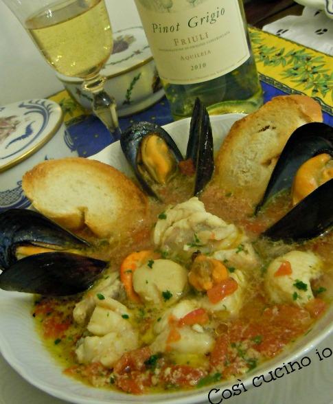 Zuppa di pesce-Così cucino io