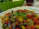Caponatina di verdure estive-Così cucino io