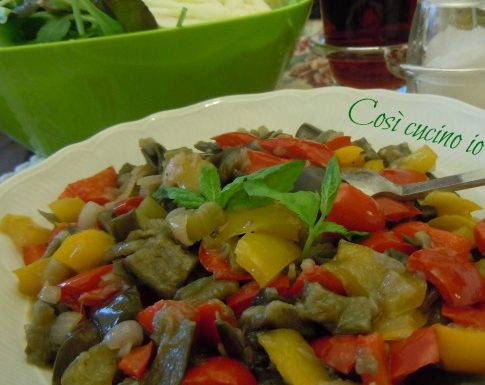 Caponata di verdure estive, ricetta di ferragosto