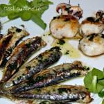 Grigliata di sarde e seppioline, ricetta salutare