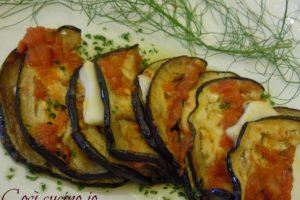 Mezzelune di melanzana alla parmigiana, ricetta rivisitata