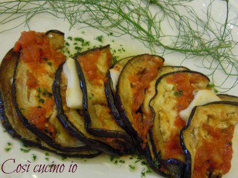 Mezzelune di melanzane alla parmigiana-Così cucino io