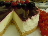 Torta fredda di yogurt ai frutti di bosco-Così cucino io