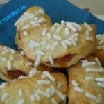 Offelle di sfoglia semplice mela e cannella, ricetta dolce