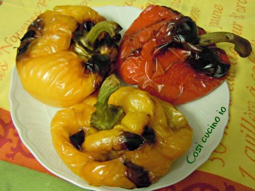 Peperoni arrosto-Così cucino io