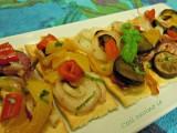 Crostini di verdure al forno-Così cucino io