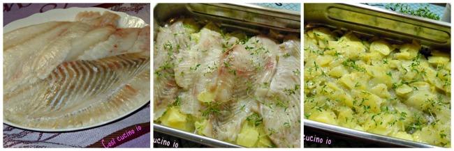 Filetti di rombo e patate profumati al timo-Così cucino io
