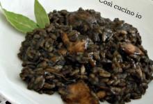Risotto di seppie col nero, ricetta tradizionale veneziana