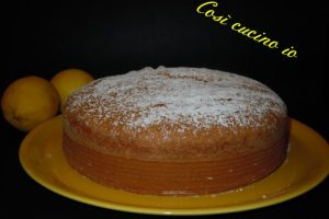 Torta soffice al limone, ricetta dolci