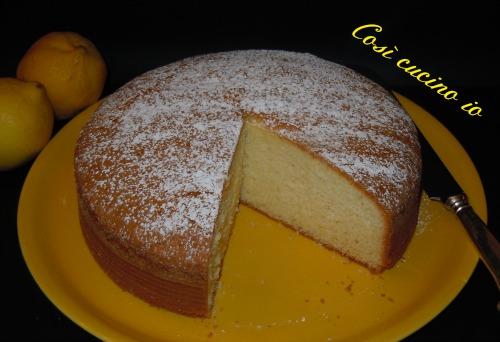 Torta soffice al limone-Così cucino io