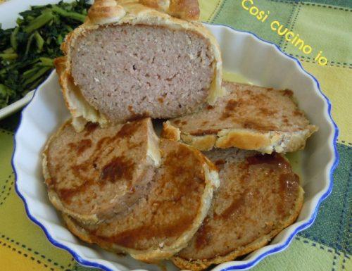 Polpettone in crosta, ricetta per le feste