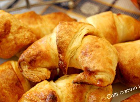 Croissant sfogliati, ricetta con lievito madre per evento GZ