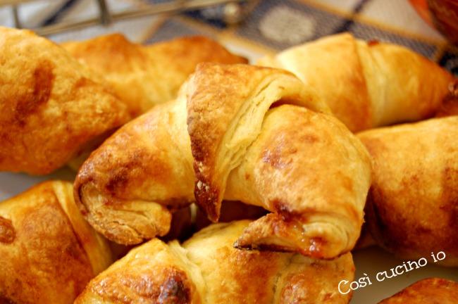 Croissant sfogliati con LM-Così cucino io