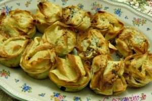 Rose di crepes, ricetta raffinata