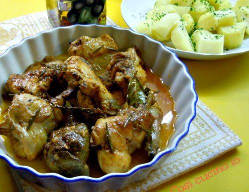 Pollo piccantino, ricetta secondi piatti