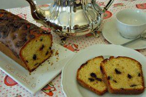 Plumcake all'arancio e cioccolato, ricetta senza burro