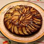 Torta di mele al cacao, ricetta casereccia