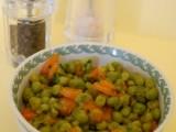 Piselli freschi e carotine novelle-Così cucino io