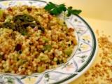 Fregula asparagi e speck-Così cucino io