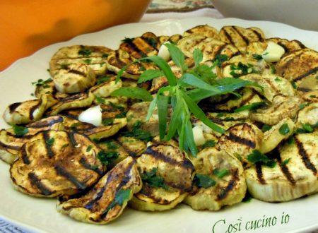 Melanzane grigliate, ricetta contorni