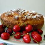 Torta semplice alle ciliegie, ricetta casalinga