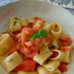 Calamarata crudaiola, ricetta primi piatti d'estate