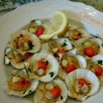 Canestrelli al forno, ricetta antipasti di pesce