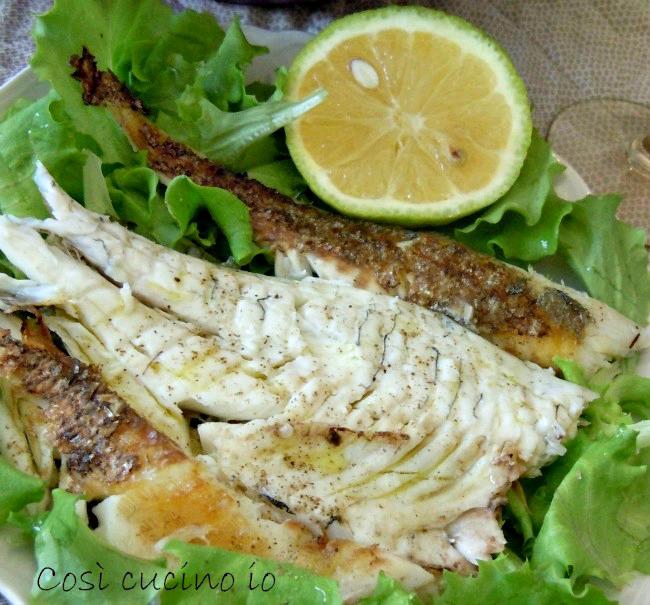 Orata grigliata ricetta secondi piatti di pesce for Secondi piatti di pesce