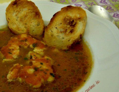 Zuppetta di asià, ricetta primi piatti di pesce