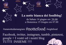 """Prima """"notte bianca"""" dei foodblogger"""