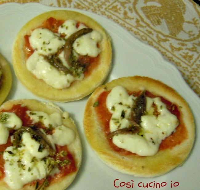 Pizzette furbe-Così cucino io