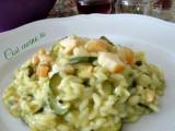 Risotto zucchine e scamorza-Così cucino io