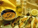 Filetti di orata con salsa di peperoni-Così cucino io