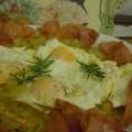 Uova, patate e speck alla rustica, ricetta autunnale