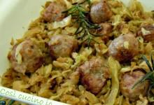 Bocconcini di salsiccia e verza, ricetta secondi piatti