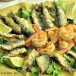 Frittura di sarde e gamberi, piatto semplice e sfizioso