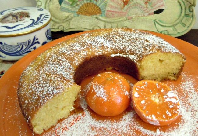 Ciambella al mandarino-Così cucino io