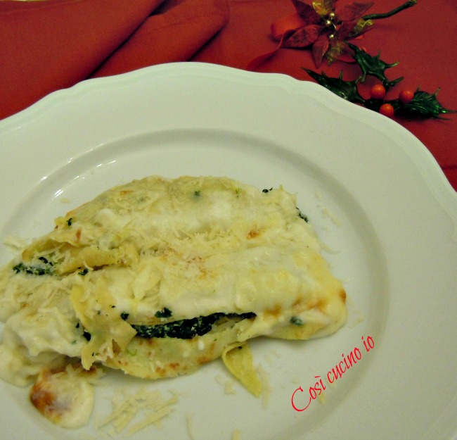 Crepes ricotta e spinaci, una proposta per Natale