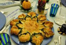 Girasole ricotta e spinaci, ricetta antipasti