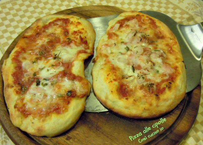Pizza alle cipolle-Così cucino io