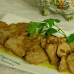 Scaloppine di vitello al marsala