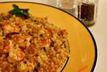 Fregola ai gamberi, ricetta appetitosa