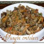 Funghi trifolati-Così cucino io
