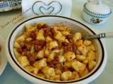 Gnocchetti di patate al ragù di salsiccia-Così cucino io