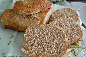Pane integrale con finocchio