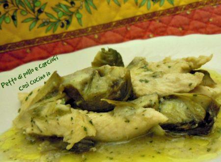 Petto di pollo e carciofi