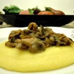 Polenta e funghi-Così cucino io